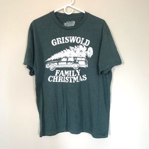 Men's Griswold Family Christmas Tee T-Shirt Large
